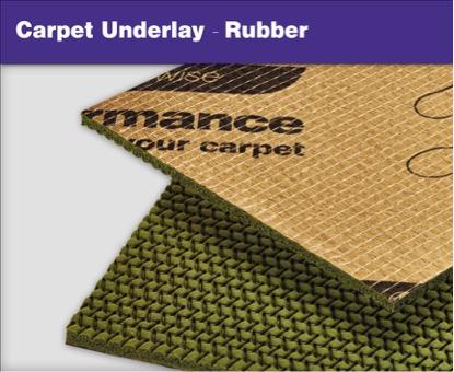 Carpet Underlays - Rubber