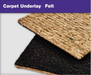 Carpet Underlays - Felt