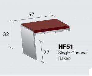 HF51 - Single Channel Raked