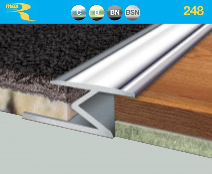 248 Z Edge Up To 9mm Carpet To Wood Floorwise