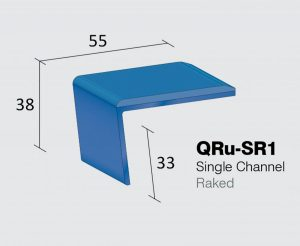 QRu-SR1 - Single Channel Raked