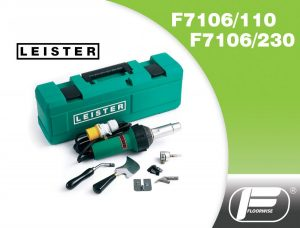 F7106 - Leister Triac ST Hot Air Welding Kit - 110/230