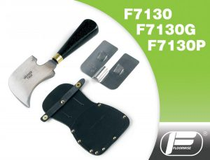 F7130/F7130G/F7130P - Spatula Trimming Knife, Guide & Leather Pouch