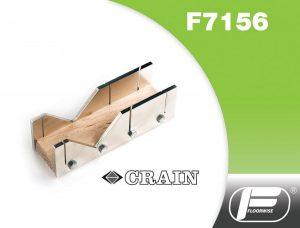 F7516 - Crain Nickel Plated Mitre Box