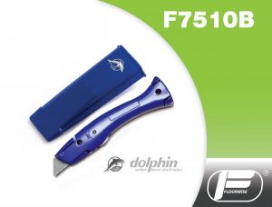 F7510B - Blue Dolphin Knife with Holster