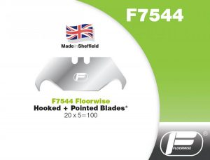 F7544 - Hooked & Pointed Blades - 20 x 5 = 100