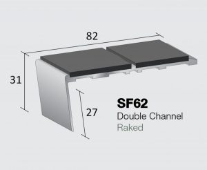 SF62 - Double Channel Raked
