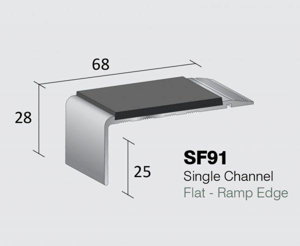 SF91 - Single Channel Flat - Ramp Edge