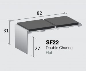 SF22 - Double Channel Flat
