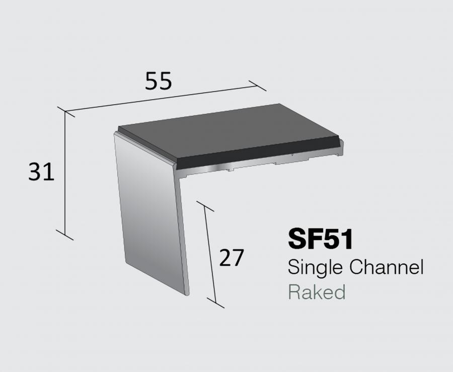 SF51 - Single Channel Raked