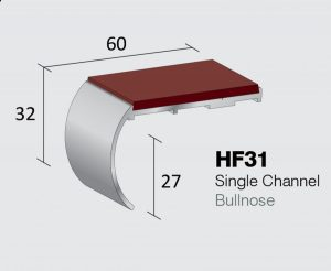 HF31 - Single Channel Bullnose
