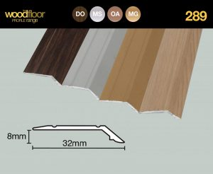 289 - Stick Down Sloping Edge 8mm