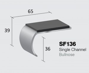 SF136 - Single Channel Bullnose