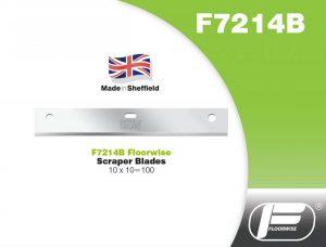 F7214B - Scraper Blades - 10 x 10 = 100