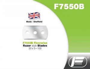F7550B - Razor Style Blades - 20 x 5 = 100