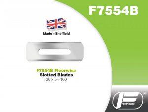 F7554B - Slotted Blades - 20 x 5 = 100