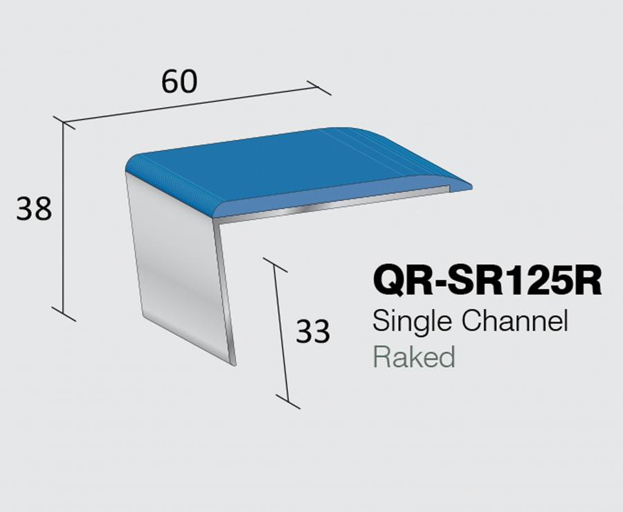 QR-SR125R - Single Channel Raked