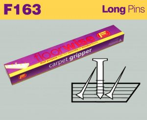 F163 - Pre-nailed Dual Purpose Long Pin Nails for Concrete or Wooden Floors