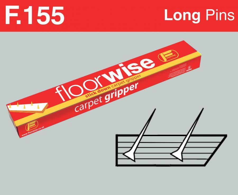 F155 Stick Down Carpet Gripper Long Pin Floorwise