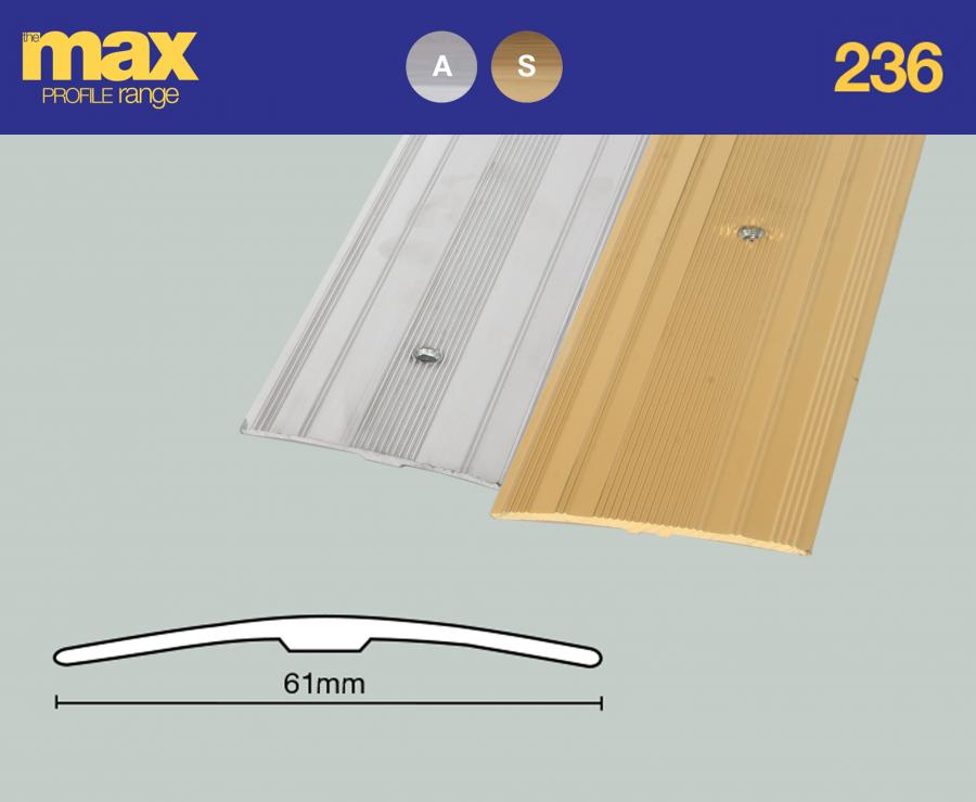 236 Extra Wide Cover Strip 61mm Approx 2 3 8 Floorwise