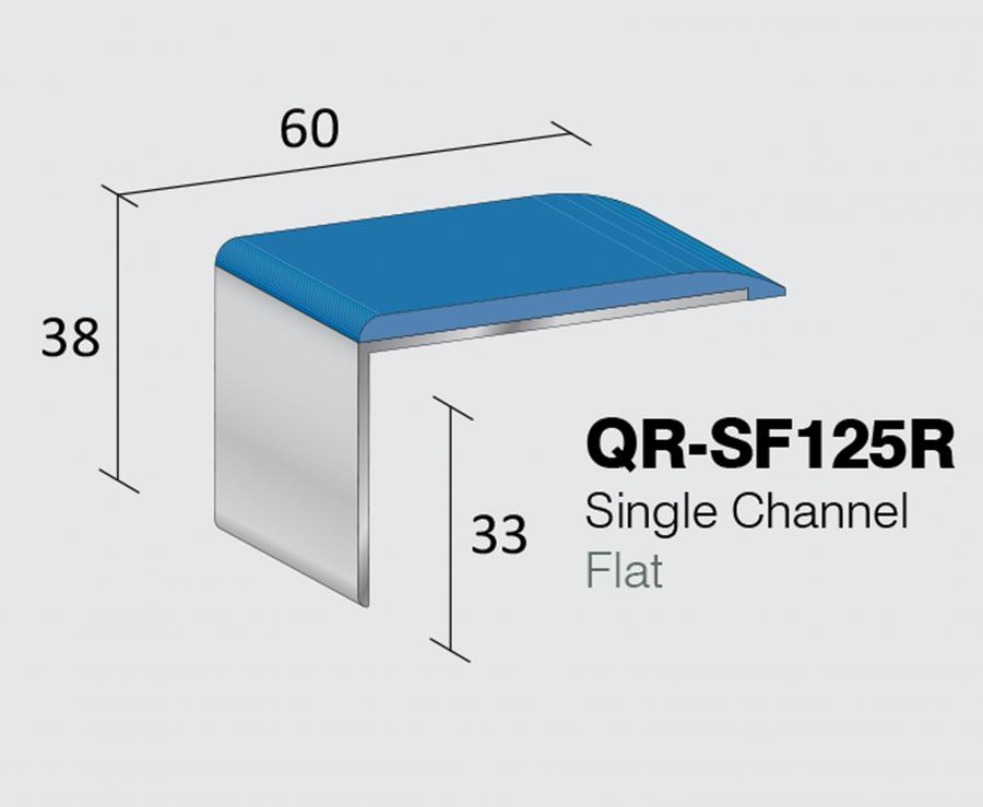 QR-SF125R - Single Channel Flat