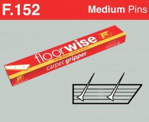 F152 - Stick Down Carpet Gripper, Medium Pin