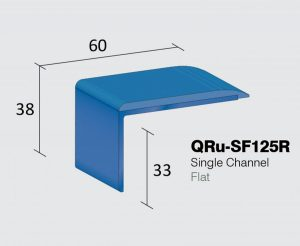 QRu-SF125R - Single Channel Flat