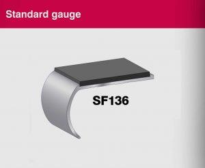 Aluminium Stair Nosings - Standard Gauge