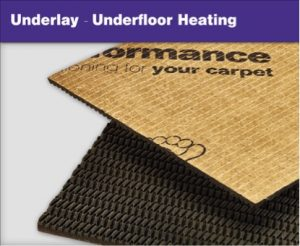 Carpet Underlays - Underfloor Heating
