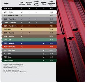 PVC Colour Chart