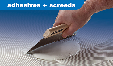Adhesives & Screeds