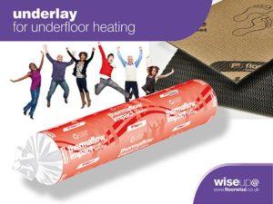 Underlay for Underfloor Heating