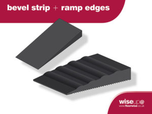 Flexible Bevel Edges & Ramp Trims