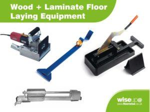 Wood + Laminate Floor Laying Equipment